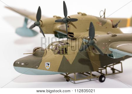 Wwii Model Kit Plane