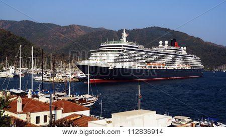 Marmaris, Turkey - July 28, 2015.SHIP