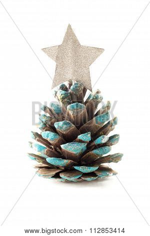 Christmas Pine Cone Placeholder