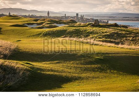 View of Saint Andrews, Fife, Scotland