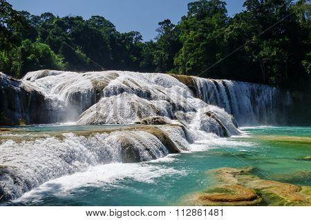 Agua Azul Waterfalls, Chiapas, Mexico