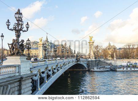 The Bridge Alexandre Iii.