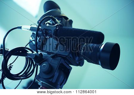 Interview Video Camera Setup