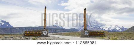 Los Glaciares National Park Entrance