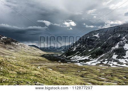 Landscape In Lapland, Sweden