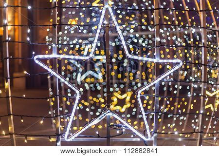 Star Chaped Christmas Decoration