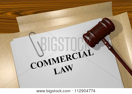 Commercial Law Concept
