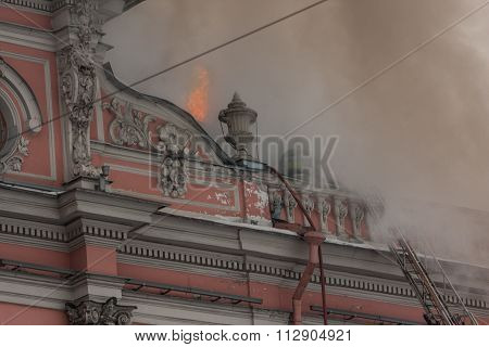 Fire In The Palace