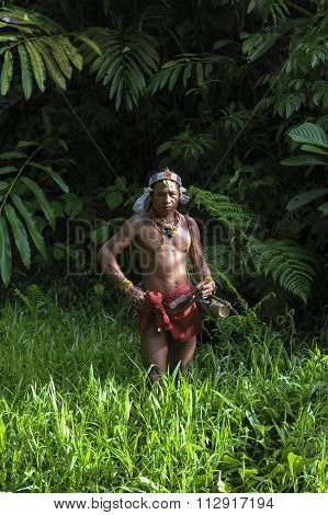 Teo Tak Gogo, 55, The Indigenous Inhabitants Ethnic.