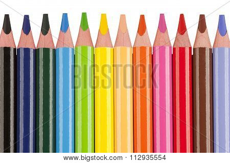 Color Crayon Background