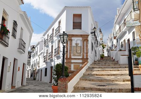 intresting and beautiful Frigiliana village in Andalusia,Spain