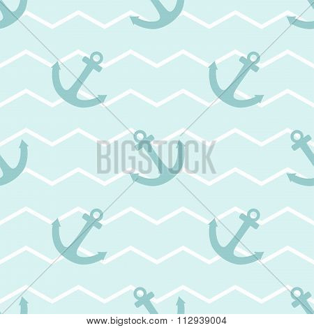 Tile sailor vector pattern