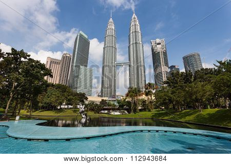 Kuala Lumpur skyline during daytime