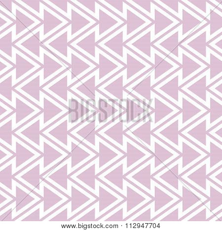 Elegant Seamless Pattern Of Vertical Zigzag And Triangles