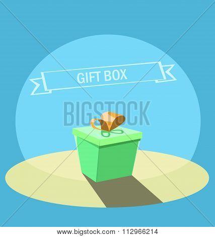 gift boxe background