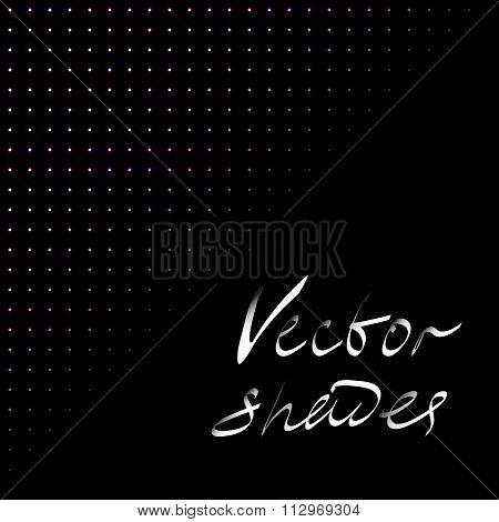 Darken vector shades.