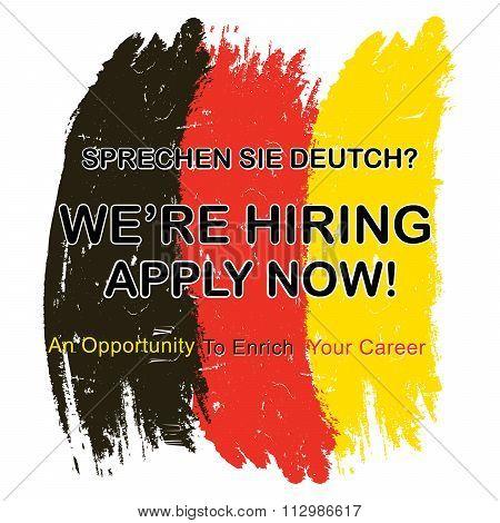 Jobs for people who speak German language
