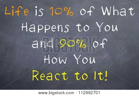 Life is 10% unless you go for it