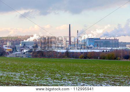 CZECH REPUBLIC, CHLUMCANY, 24 NOVEMBER, 2015:Ceramic factory