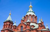 Uspenski Cathedral is an Eastern Orthodox cathedral in Helsinki Finland in was built in 1862-1868 poster