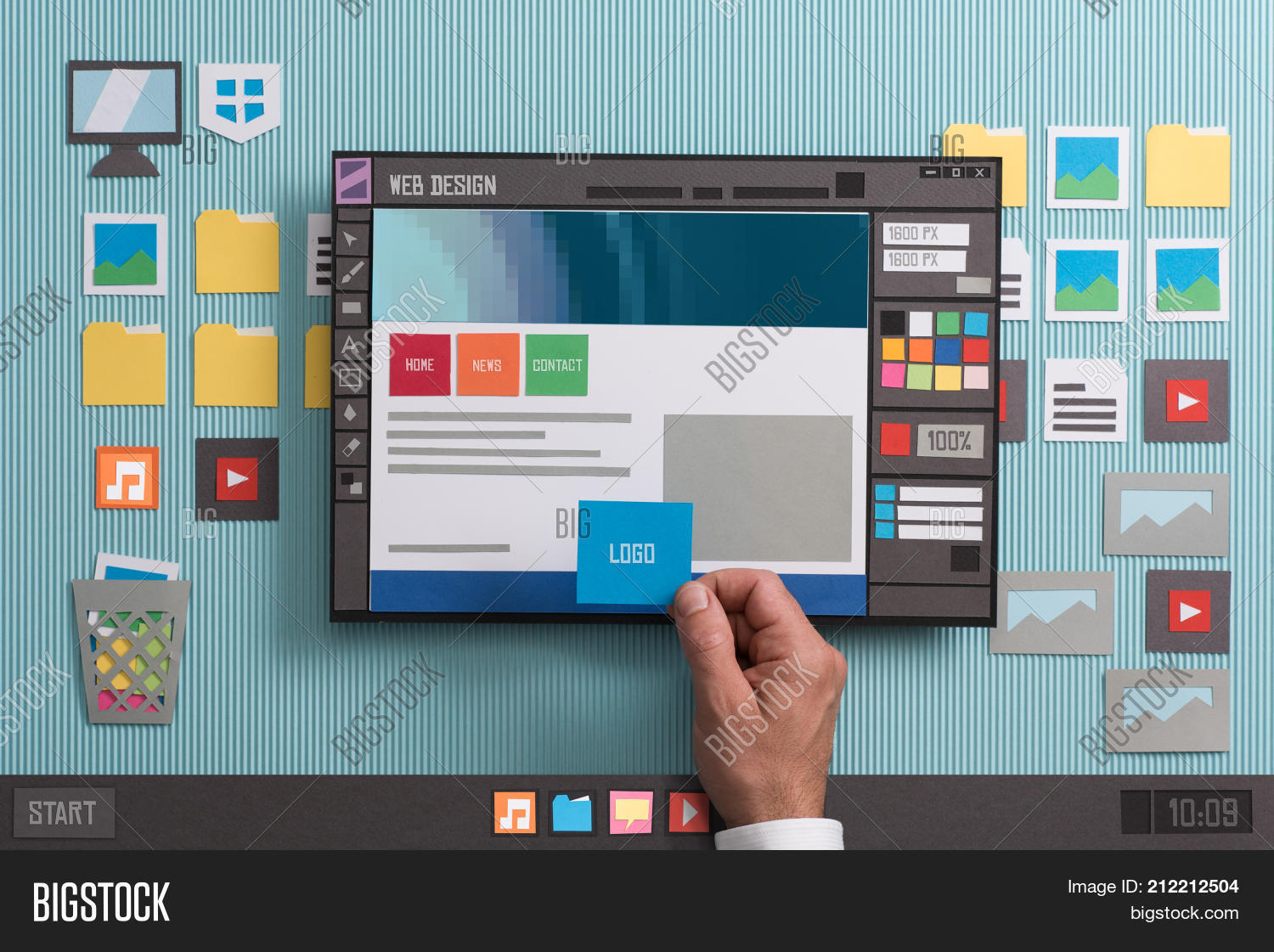 Web Design Software Image Photo Free Trial Bigstock