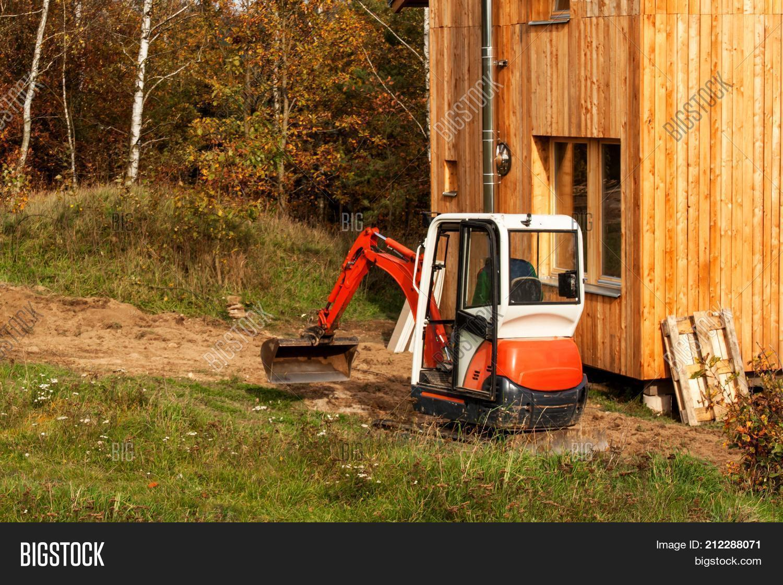 Mini Excavator On Image & Photo (Free Trial) | Bigstock