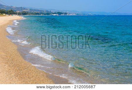 Summer Sea Beach(halkidiki, Greece).