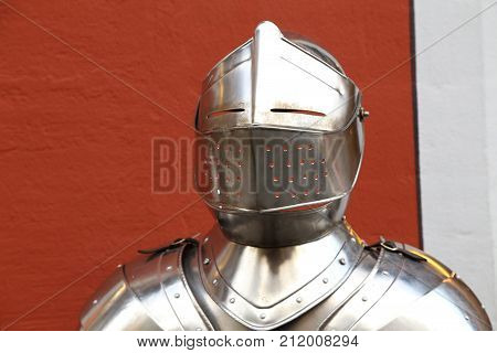 Knight armor / Body armor , designed to absorb and/or deflect slashing, bludgeoning and penetrating attacks by weapons.