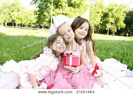 Children's Birthday Party Outdoors