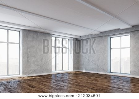 New Room With Empty Wall