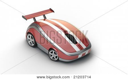 High speed mouse concept