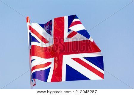 British Union Jack  - flag of the United Kingdom of Great Britain