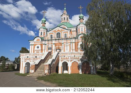 Temple of Simeon Stylites in Veliky Ustyug, Vologda region, Russia