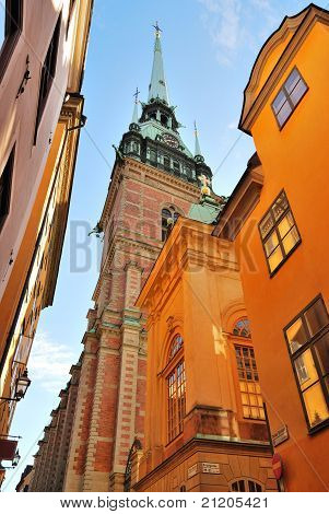 Stockholm,  The German Church
