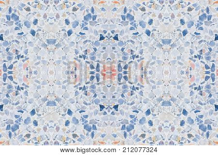 terrazzo floor old texture or stone marble background with copy space add text