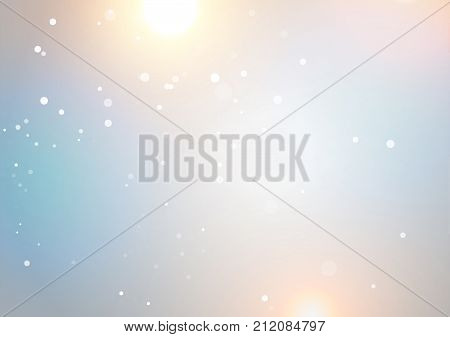 Defocused abstract texture background light style, vector illustration