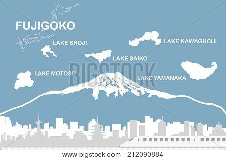 5 Lakes Around Fuji