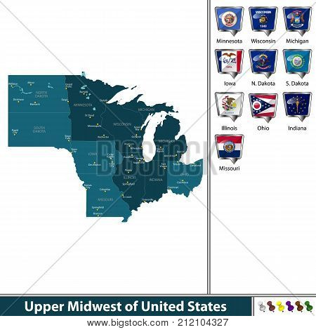 Upper Midwest Of United States