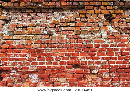 unique brick wall