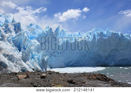 Perito Moreno Glacier is one of the most impressive glaciers in the world.