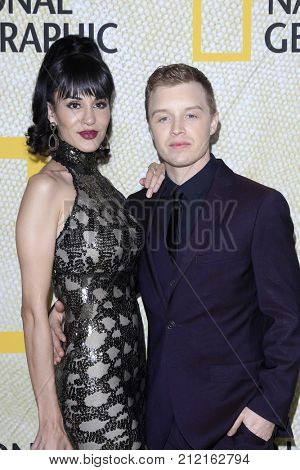 LOS ANGELES - OCT 30:  Layla Alizada, Noel Fisher at the