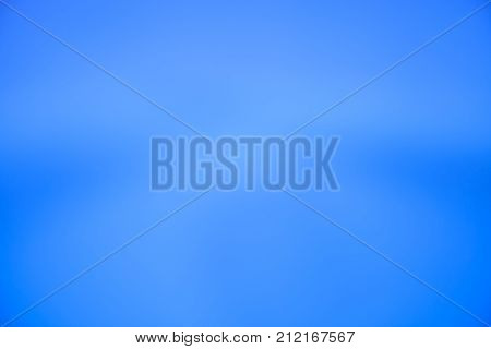 Abstract blur of blue effect background for