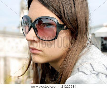 Girl Portrait, Padua In Sunglasses