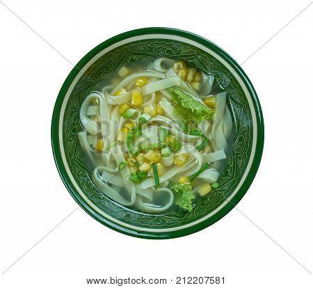 Cantonese Corn Soup