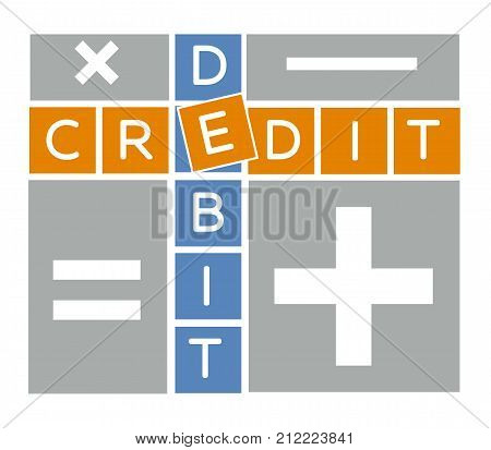 Silhouette Debit And Credit Crossword