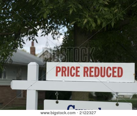 Real Estate Down Market:  Price Reduced