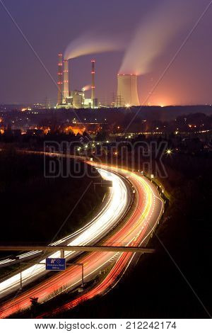 Traffic And Power Station