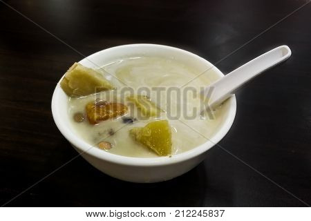 Bubur Cha Cha Is Popular Nyonya Dessert Among Malaysian Food