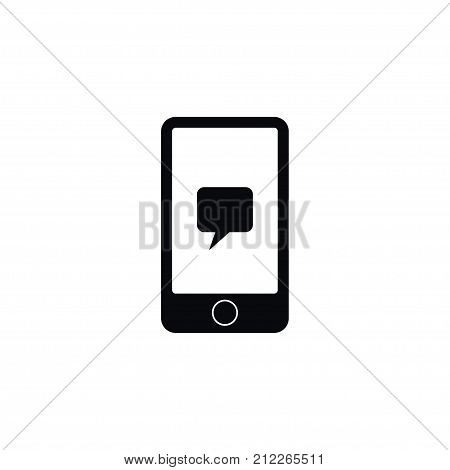 Digital Vector Element Can Be Used For Smartphone, Mobile, Conversation Design Concept.  Isolated Conversation Icon.