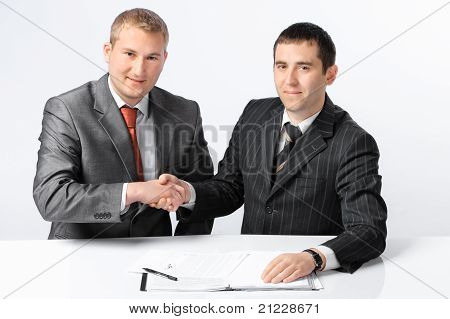 Two business men